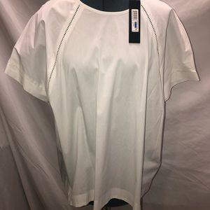 Donna Karen Summer Cools Blouse, XL NWT